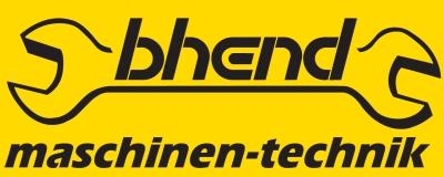 bhend-maschinen-technik.ch Logo